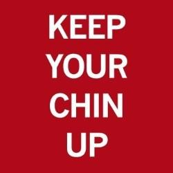 Keep your chin up logo